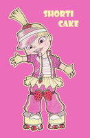 Sugar Rush OC Shorti Cake by olivia8383