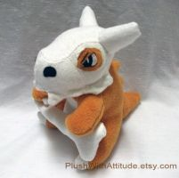 Cubone plushie by gamef0x