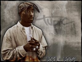 In memory of Tupac shakur by AbdeLo