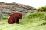 Meadow Bear by PastYourPorchlight