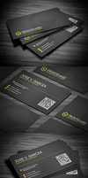 Clean Modern Business Card by FlowPixel