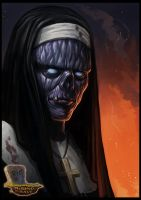 Zombie Nun by RogierB