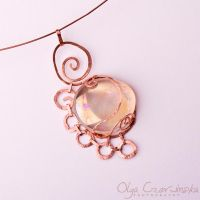 Peach and copper by OlgaC