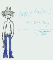 Happy Easter from Sick Boy by XBrokenDownBeauty