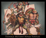 TMNT JoGee Art Challenge by joverine