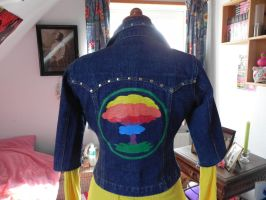 Colour Blast jacket by Hoejfeld