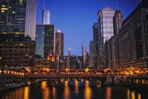 Chicago River - Facing East by sethlamden