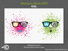 Welcome Week Glasses by ANOZER