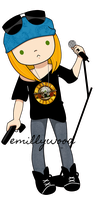 Axl Rose by emillywood
