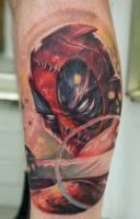 Deadpool Tattoo by graynd