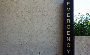 Emergency sign, Brisbane by dpt56
