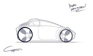 Day 2: Clean Car (Sketch Blog) by ComplxDesign
