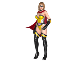 Tina - Fighter Force DLC by IKeelYou457