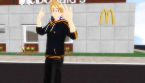 Mcdonald's, dude! by xbloodrosedragon