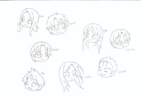 The Cullens - Sketch by Kawaii-Chibi-Freaks