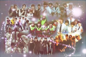 Boyfriend 200th day wallpaper by cherrytinayumi