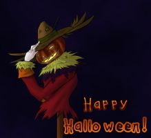 Greetings From The Scarecrow by Destron23