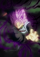 Black Goku SSJ by SenniN-GL-54