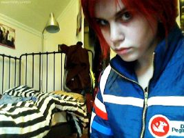 Gerard Way cosplay by Mirish