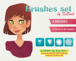 My Brushes Set for free by XnBook