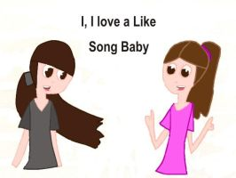 I Love Like Song by Isi-Mari-Agus-10