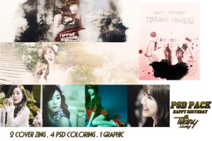 [PSDs Pack] Happy Birthday {late} to Tiffany Hwang by pasyuks9b6