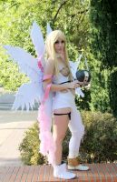 Angewomon Cosplay (Digimon) Japan Weekend Madrid by PhotoSoof