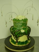 Elven Wedding Cake by see-through-silence