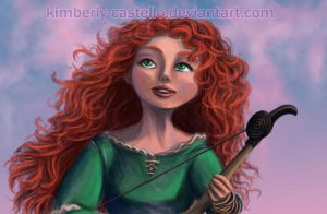 Disney: (Brave) Merida by kimberly-castello