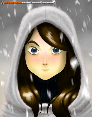 Girl with Hood by Narodny-Geroy