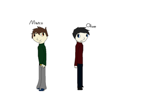Marco and Oliver by Helkie-three