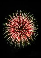 Red to Green Fireworks by AcceptedOutcast