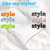 like my styles by Shakeitout