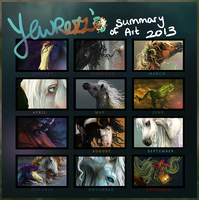 Summary Of Art 2013 by Yewrezz
