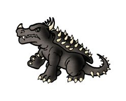 Anguirus by ZappaZee