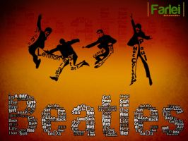 Beatles font by farlei