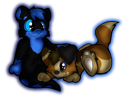 Ohh look a puppy by Sockune