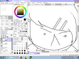 WIP screw the face D': by LilyKittyCat