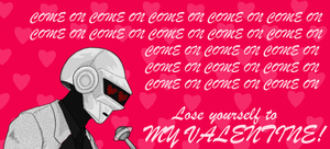 Daft Punk Valentine by b-dangerous