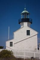 Point Loma Lighthouse by Milton-Andrews