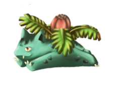 Pokemon - 002 Ivysaur by jackzarts