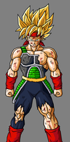 Bardock SSJ, Battle Damaged by hsvhrt