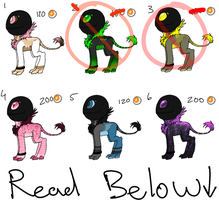 Little Monster Adoptables 3- READ RULES by AccursedAsche
