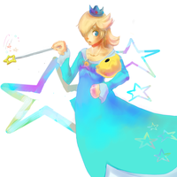 Rosalina And Luma by ApplFruit
