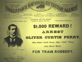 Wanted poster Curt Perry by tallon