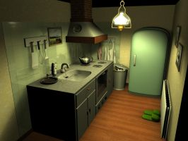 kitchen by edwinstudio