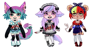 kemonomimi Adopt (Points/Paypal) CLOSED by KuAdopts