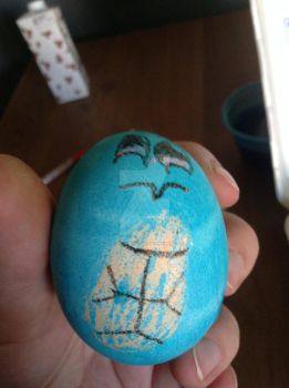 Squirtle egg by dragonmrcry