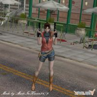 My Heroine in Raccon by MadeInHaven9679