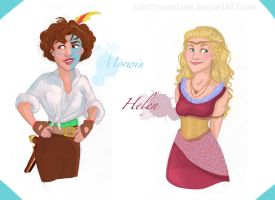 Morwin and Helen by ColetteCopeland